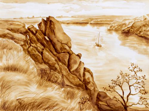 Хортицькі скелі - Лемешко Анастасія